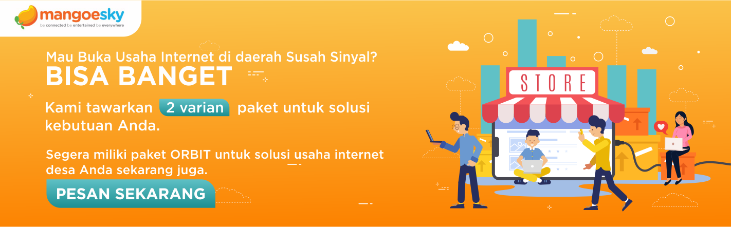 buka usaha internet di daerah susah sinyal